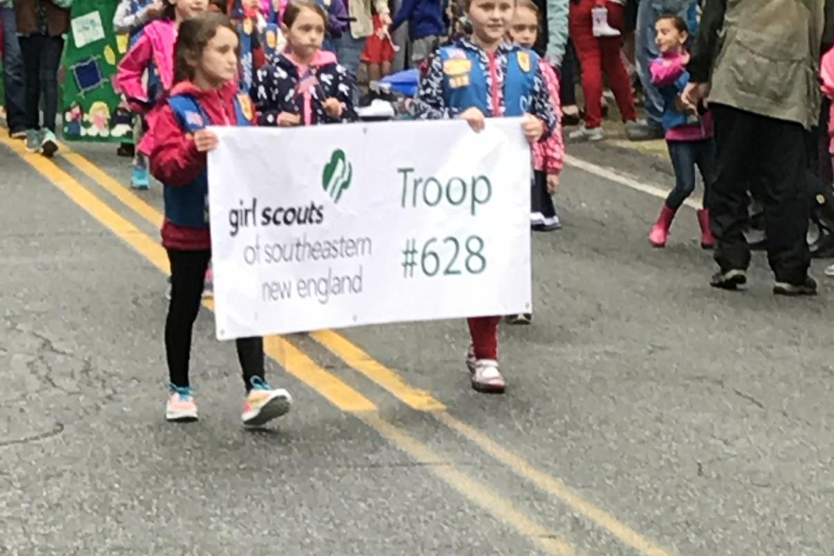 Rehoboth's Girl Scouts