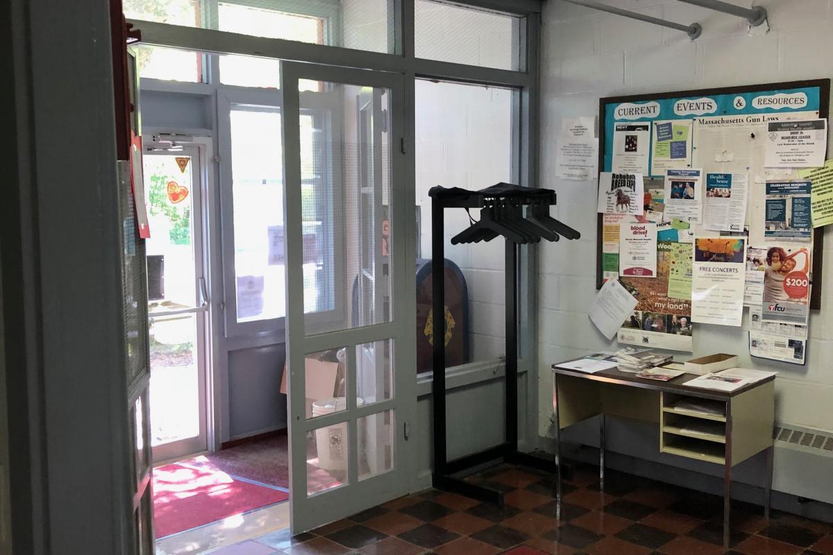 Lobby area by front door