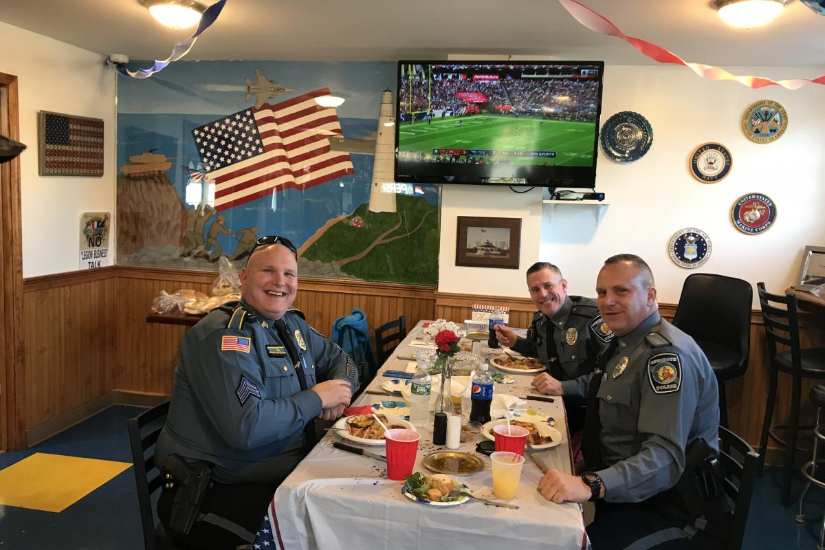 Local support for Veterans Day